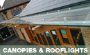 Glass Canopies and Rooflights